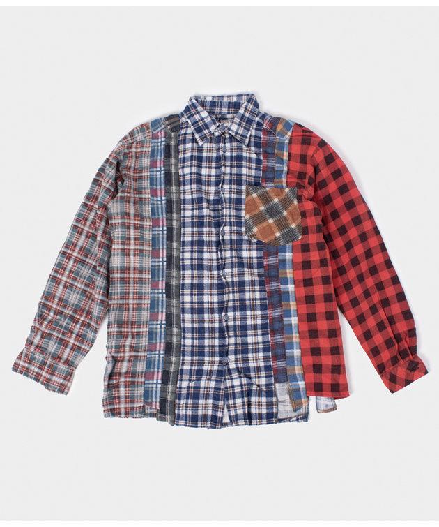 Needles Rebuild by Needles Flannel Shirt 7 Cuts Shirt