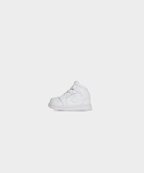 Nike Jordan 1 Mid TD Kids White
