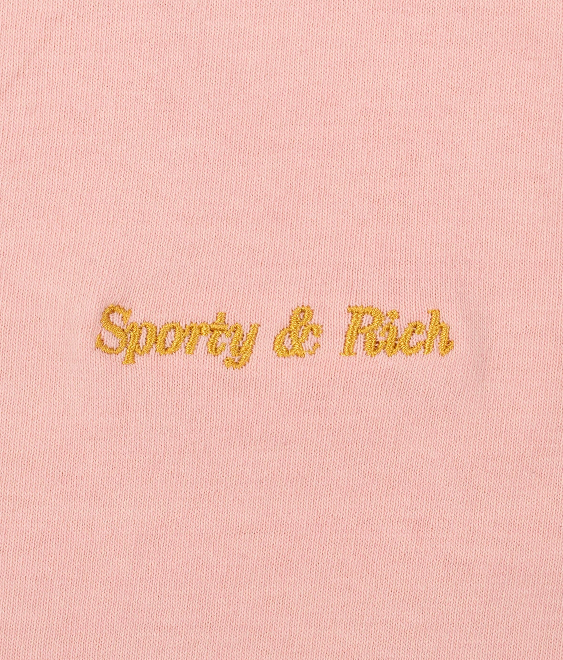 Sporty and Rich Sporty & Rich Classic Logo Crew Powder Pink