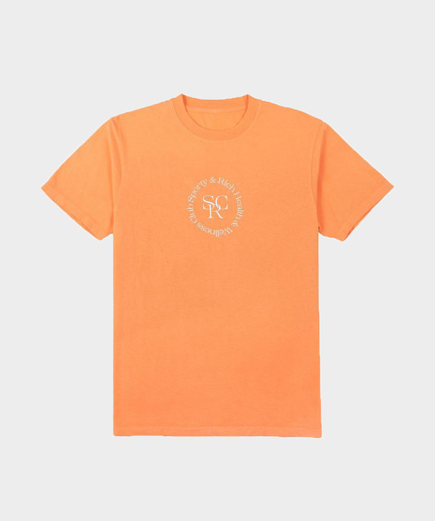 Sporty and Rich Sporty & Rich SRHWC Tee Orange Cream