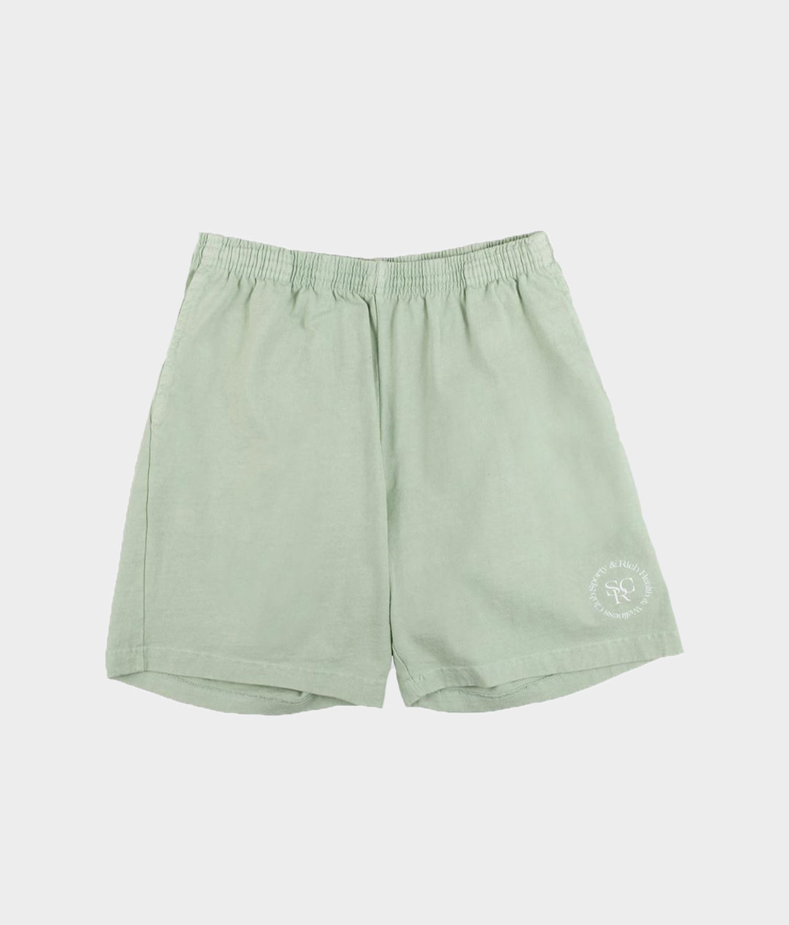 Sporty and Rich Sporty & Rich SRHWC Shorts Mint Cream