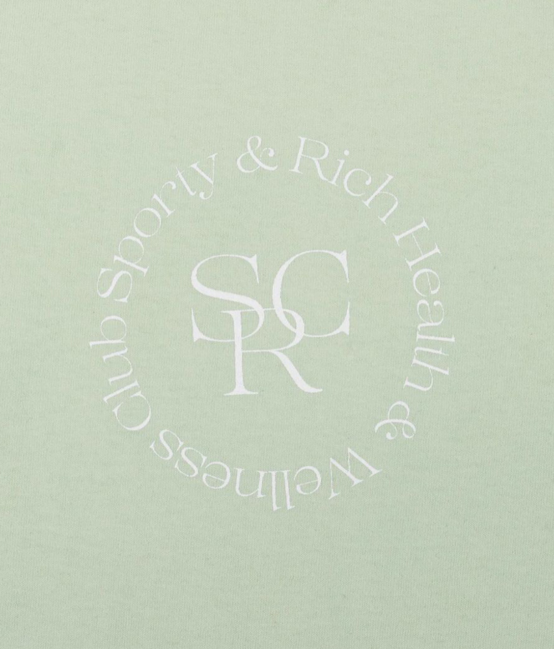 Sporty and Rich Sporty & Rich SRHWC Crew Mint Cream