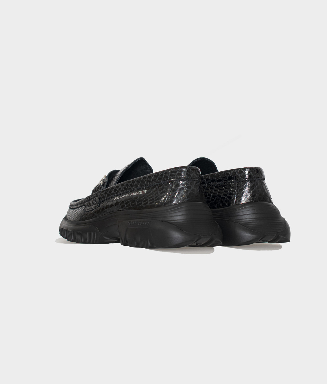 Filling Pieces Filling Pieces Iroko Loafer Black