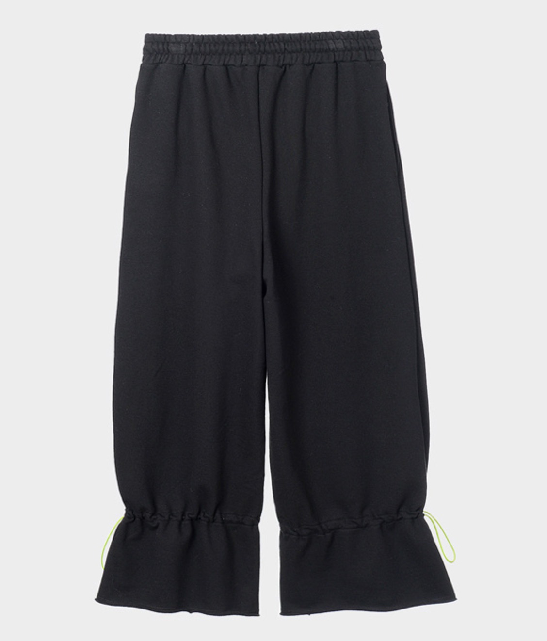 NEUL Neul Coulisse Wide Sweatpants Black
