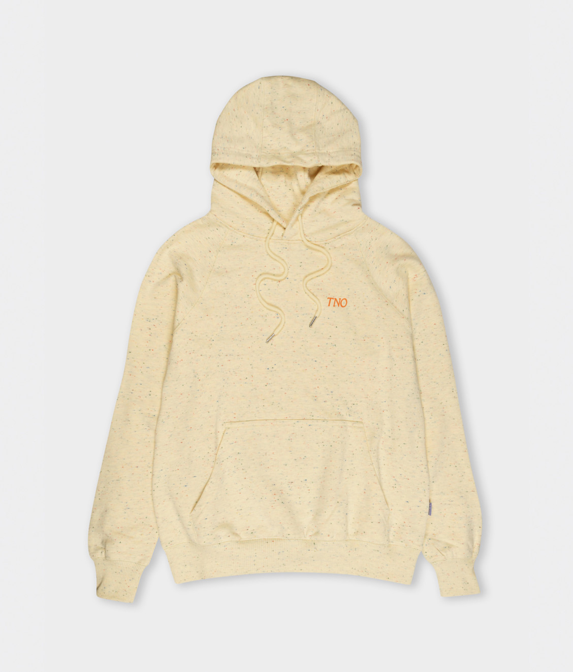 The New Originals TNO CATNA Hoodie Speckled Print Creme