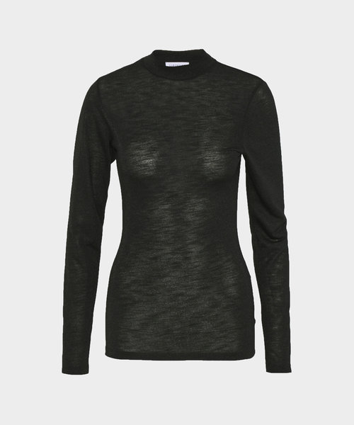 Libertine Top Attack Black