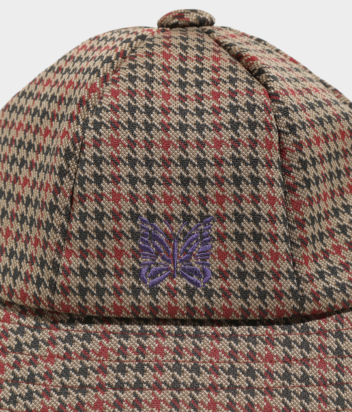 Needles Needles Bermuda Hat Poly Jq. Houndstooth