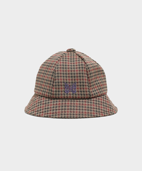 Needles Bermuda Hat Poly Jq. Houndstooth