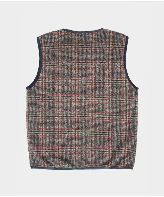 Needles Needles Sportswear W.U. Piping Vest Plaid
