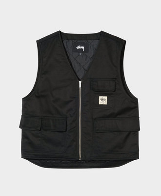 Stussy Stussy Insulated Work Vest Black