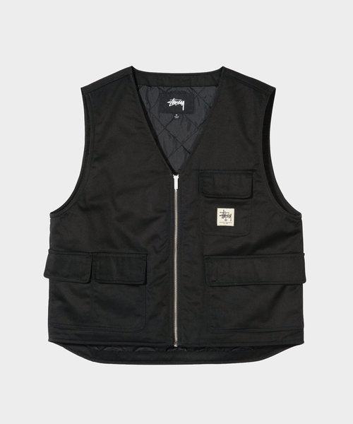 Stussy Insulated Work Vest Black
