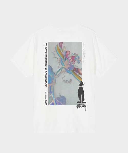 Stussy Delusion Pig. Dyed Tee Natural