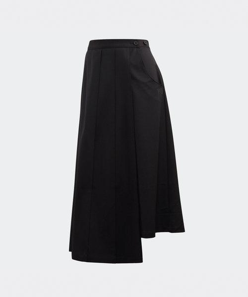 Y-3 W CL Wool Skort Black