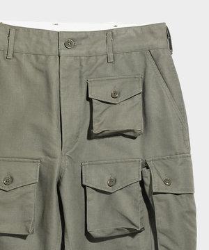 Engineered Garments Engineered Garments FA Pant Olive Cotton