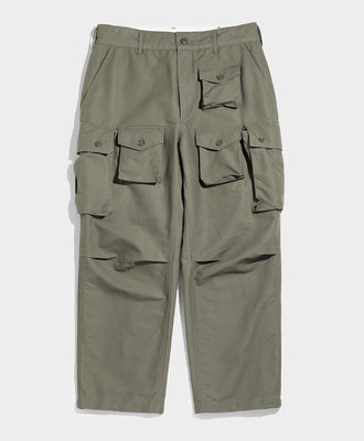 Engineered Garments FA Pant Olive Cotton