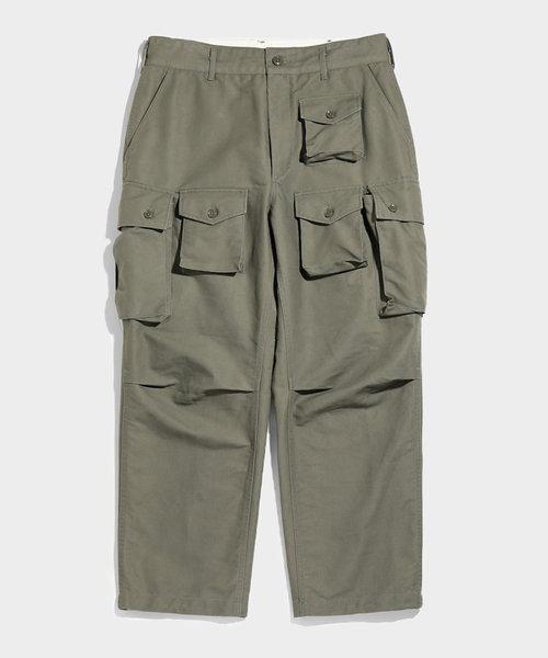 FA Pant Olive Cotton