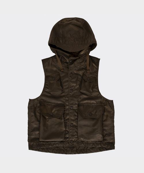 Field Vest Brown Poly