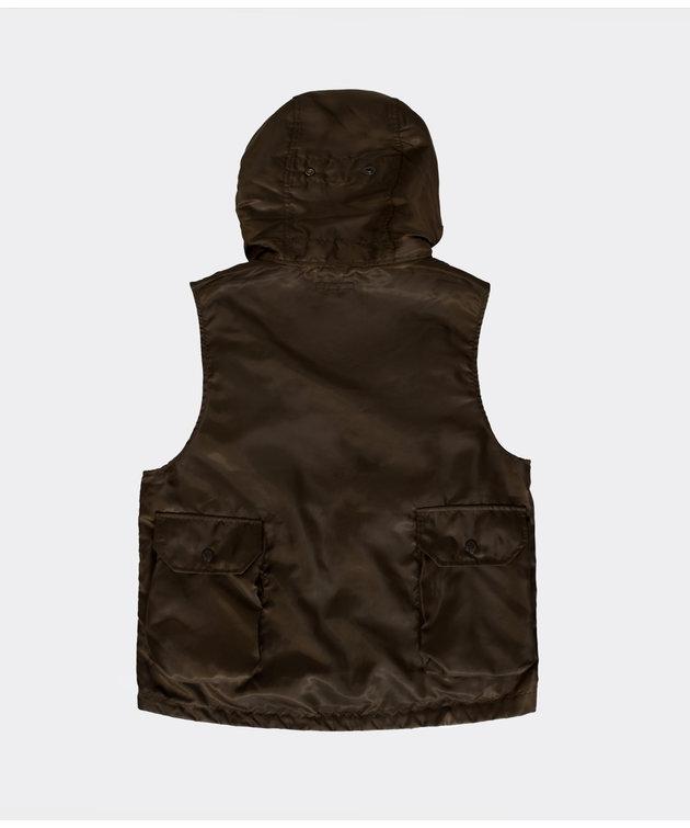 Engineered Garments Engineered Garments Field Vest Brown Poly