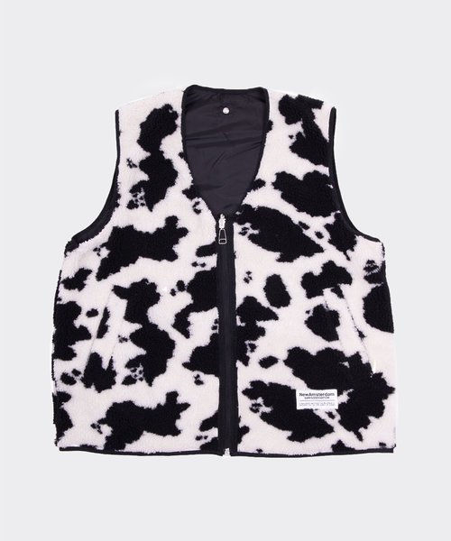 New Amsterdam Double Up Vest Cow