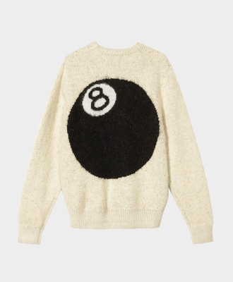 Stussy Stussy 8 Ball Hvy Brushed Mohair Sweat