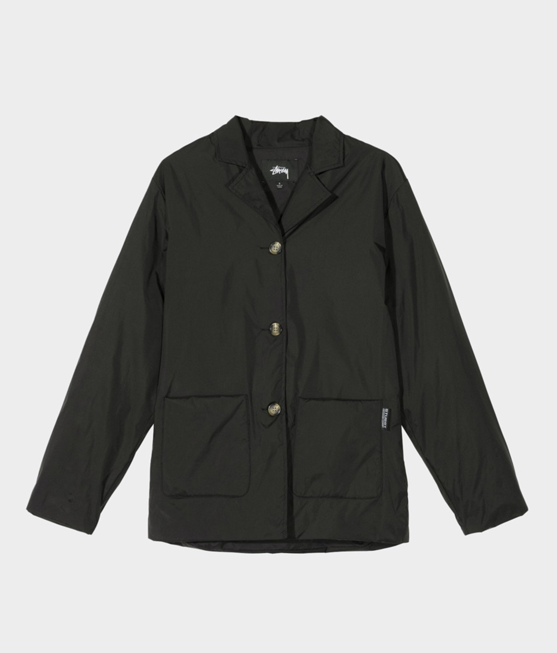 Stussy Stussy Light Fill Nylon Sport Jacket Black