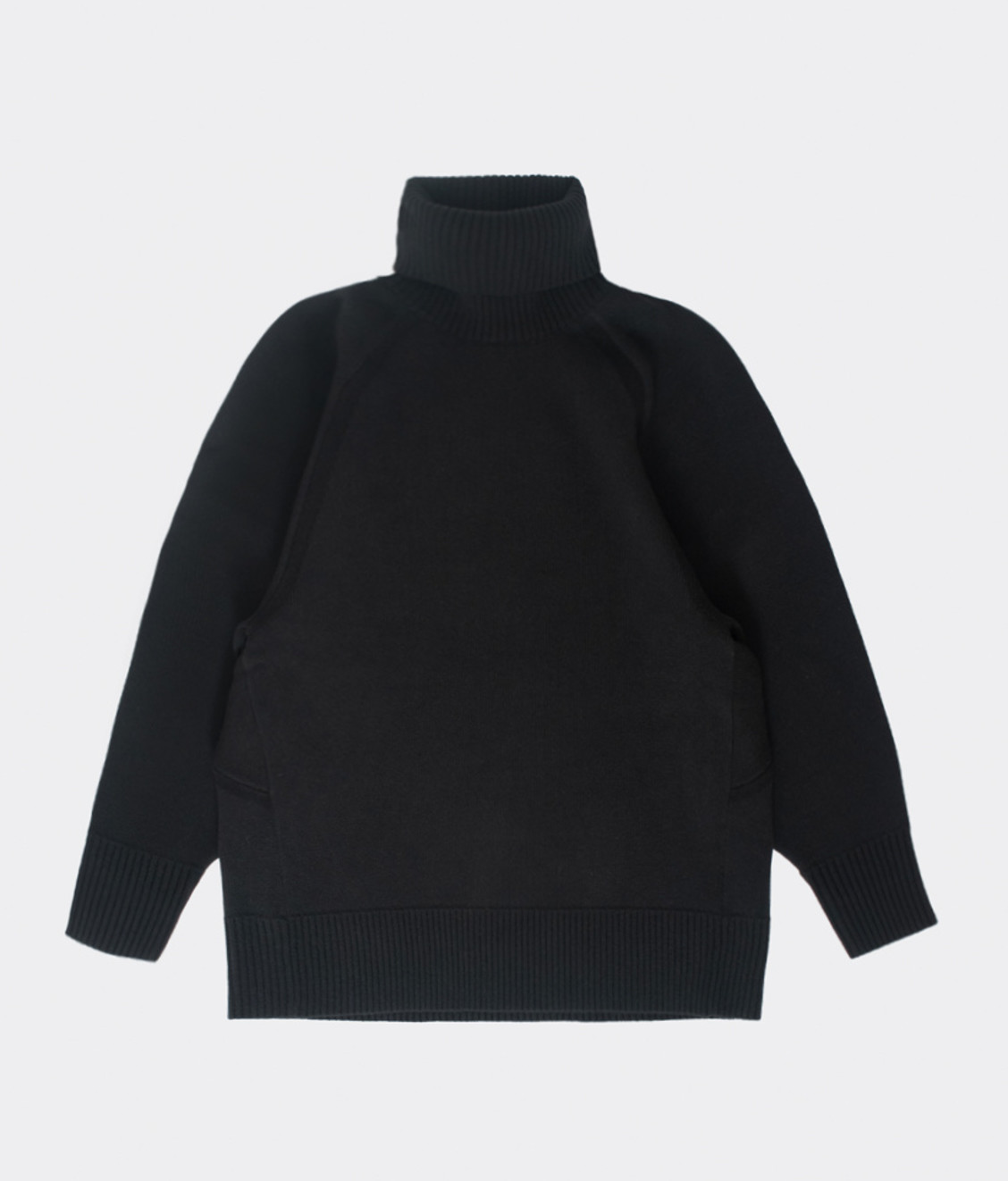 Y-3 Y-3 Winter Knit High Neck Sweat Black