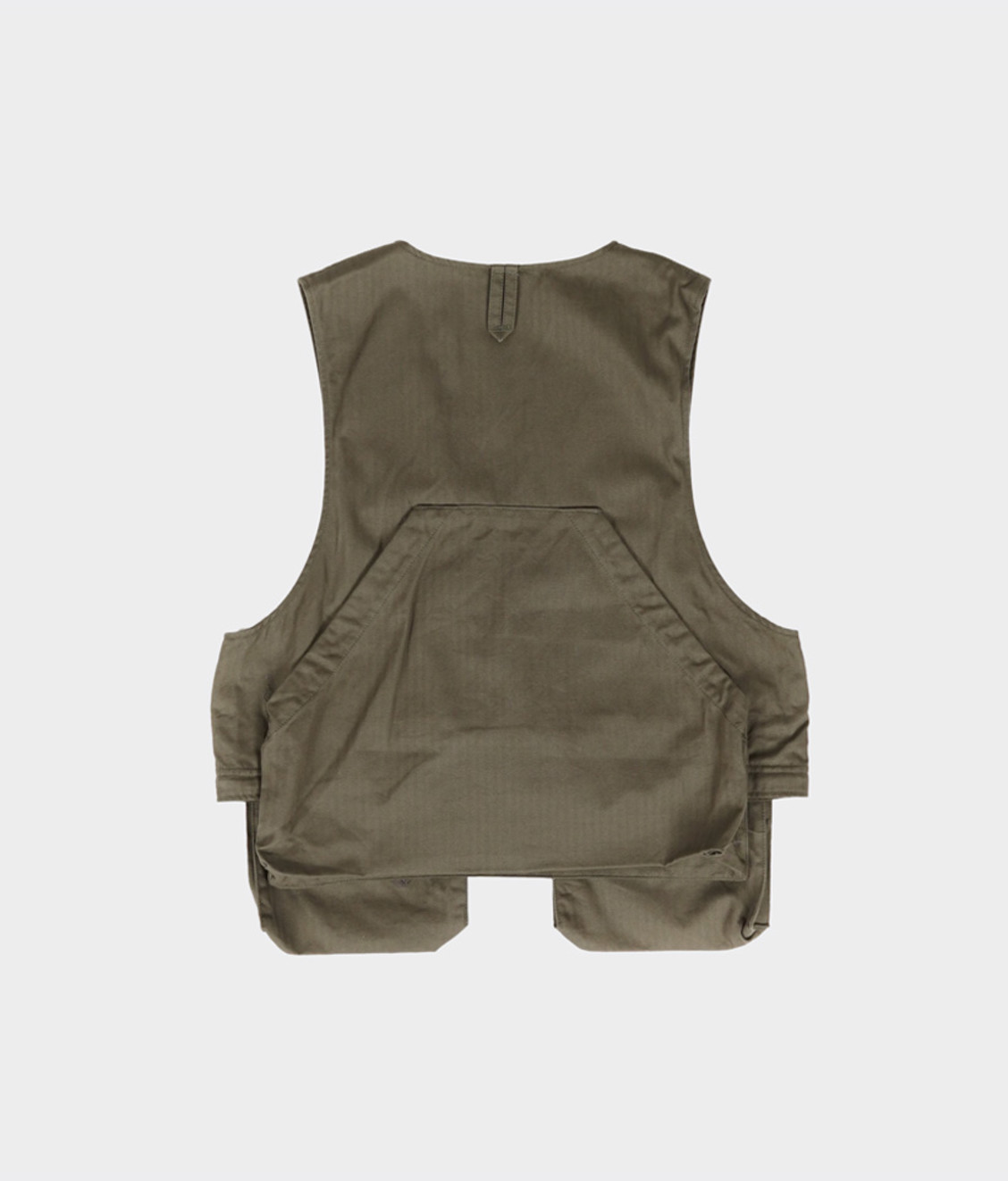Engineered Garments Engineered Garments Long Fowl Vest Olive