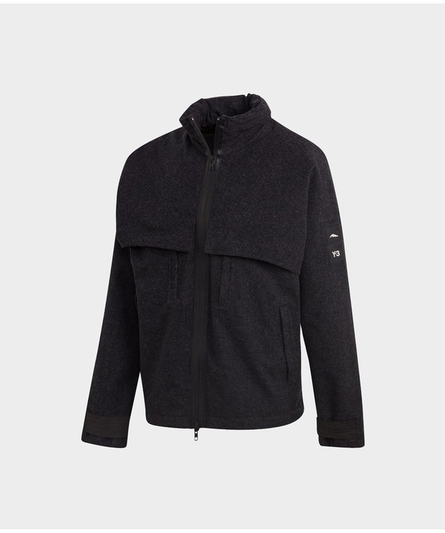Y-3 Y-3 CH3 Melton Gore-Tex Hooded Jacket Black