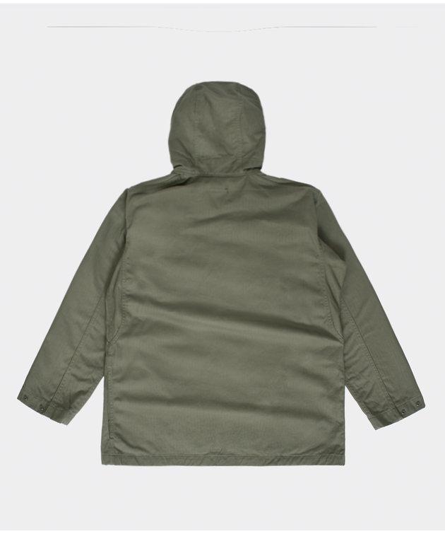 Engineered Garments EG Sonor Shirt Jacket Olive Cotton