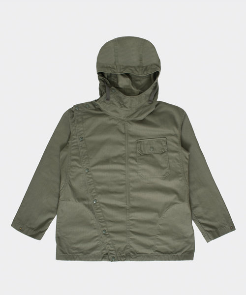 Engineered Garments Sonor Shirt Jacket Olive Cotton
