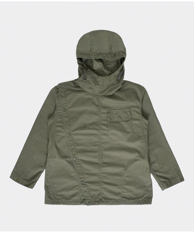 Engineered Garments Engineered Garments Sonor Shirt Jacket Olive Cotton