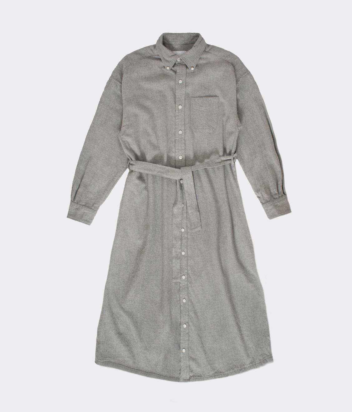Engineered Garments Engineered Garments BD Shirt Dress Light Grey