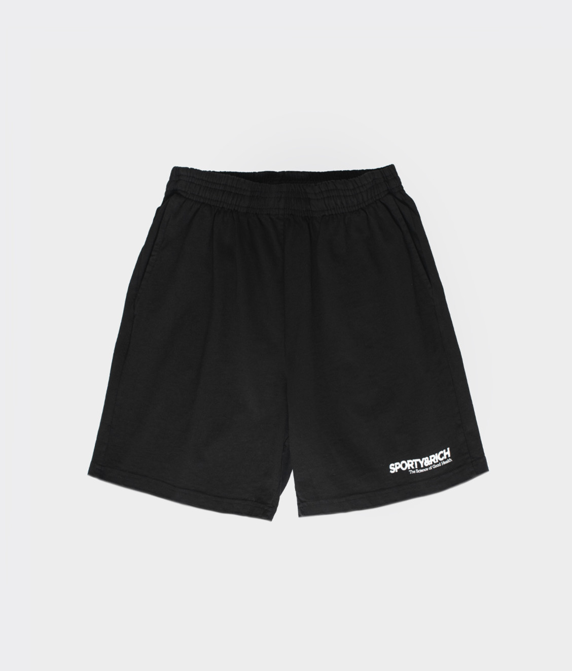 Sporty and Rich Sporty & Rich SOGH Shorts Black