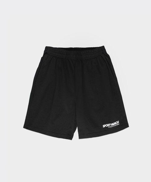 Sporty & Rich SOGH Shorts Black