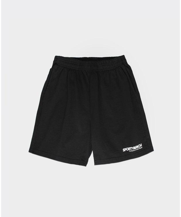 Sporty and Rich Sporty & Rich SOGH Shorts Black
