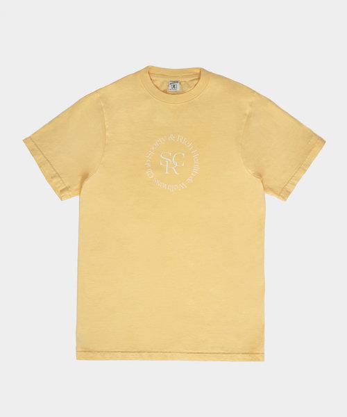 Sporty & Rich SRHWC T-shirt Lemon Cream
