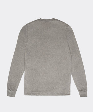 Sporty and Rich Sporty & Rich Live Longer LS Heather Gray