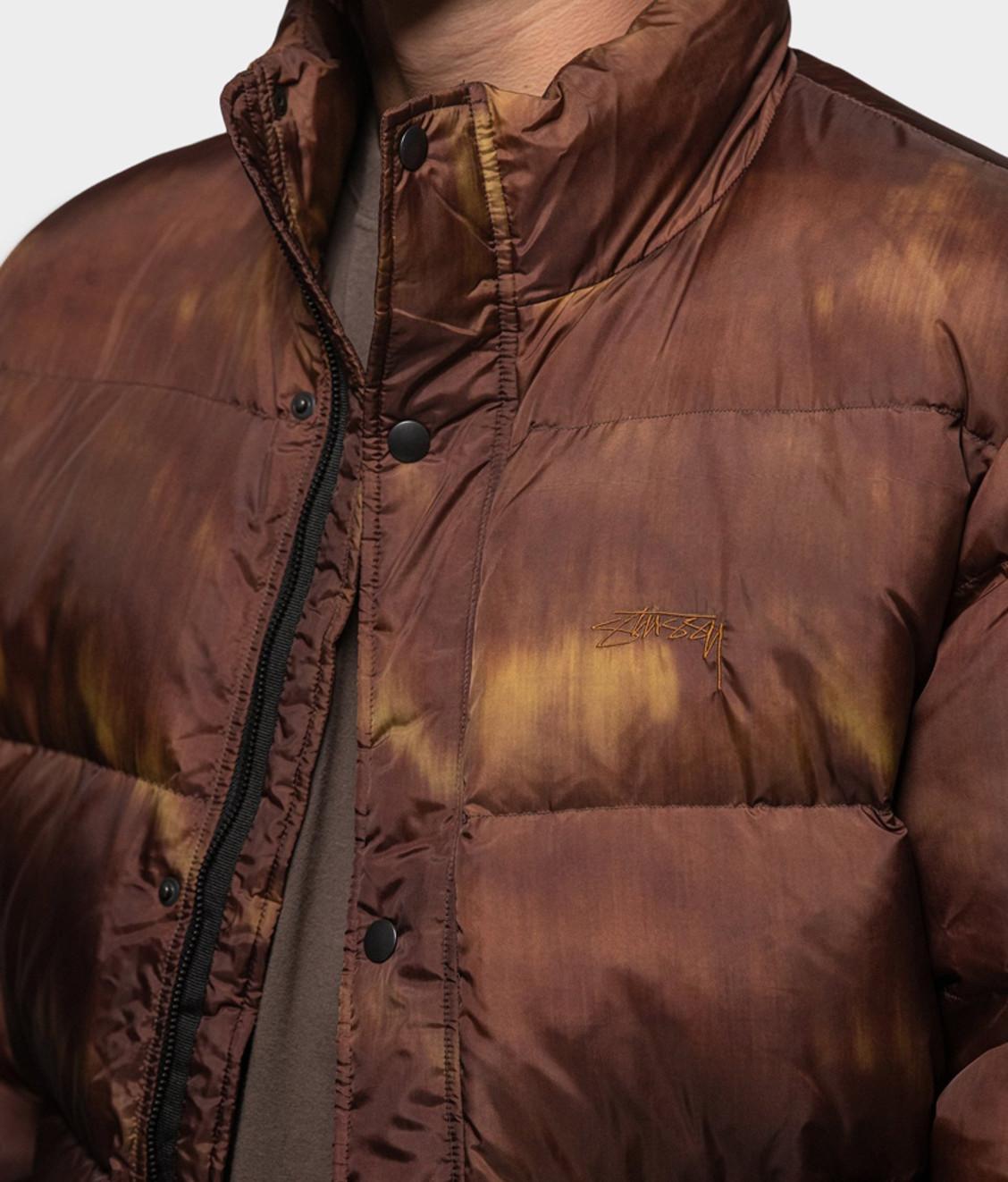 Stussy Stussy Aurora Puffer Jacket Brown