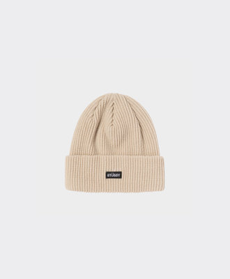 Stussy Stussy Small Patch Watchcap Beanie Sand