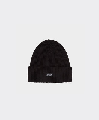 Stussy Stussy Small Patch Watchcap Beanie Black
