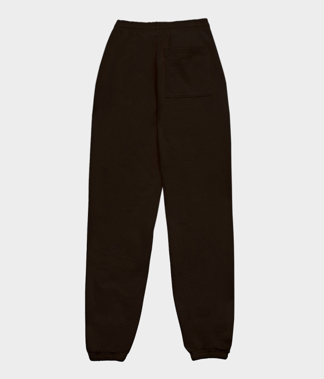 Sporty and Rich Sporty & Rich Serif Logo Sweatpant  Chocolate