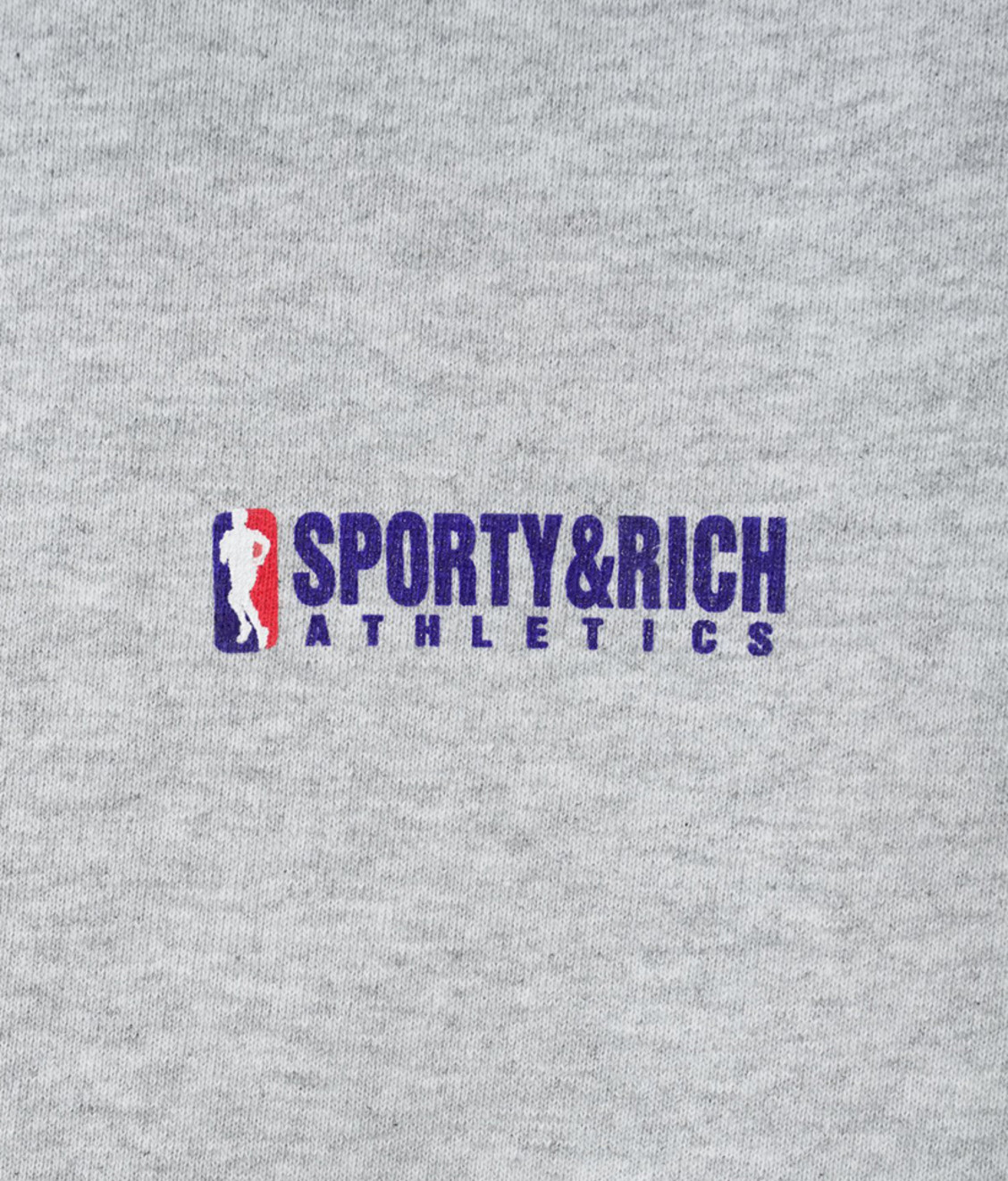 Sporty and Rich Sporty & Rich Team Logo Sweatpants Heather Gray