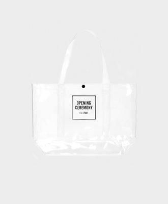 Opening Ceremony OC Box Logo Medium Size Shopper Transparent