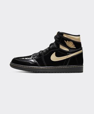 Nike Air Jordan 1 Retro High OG Black Metallic Gold