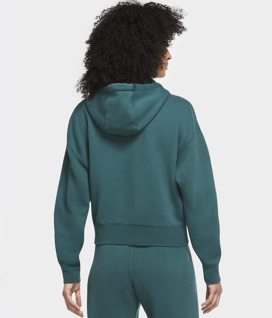 Nike Jordan Flight Fleece Hoodie Atomic Teal