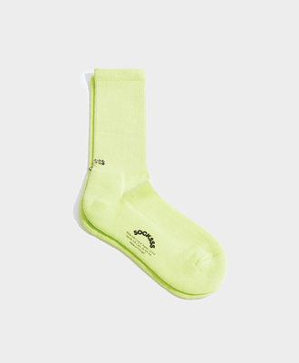 Socksss Socksss Tennis Solid Sour Apple