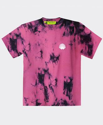 New Amsterdam New Amsterdam Logo Tee Tie Dye Pink