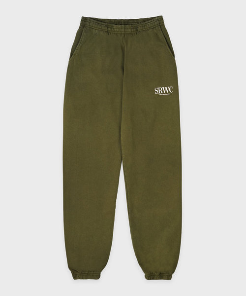 Sporty & Rich Upper East Side Sweatpant Olive