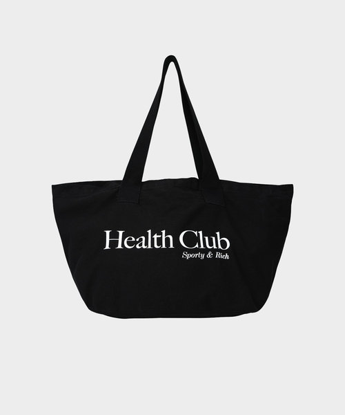 Sporty & Rich Health Club Tote Black