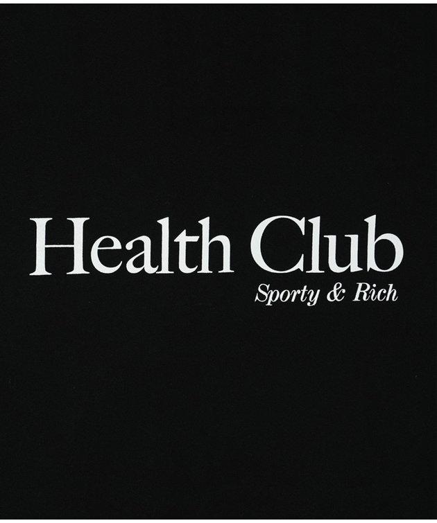Sporty and Rich Sporty & Rich Health Club T Shirt Black